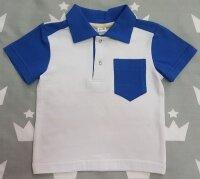 042F Футболка бело-голубая