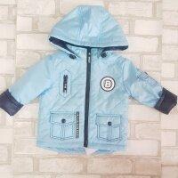2019 Куртка деми на мальчика голубая